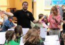 Nachwuchsmusiker umrahmen Frühlingsfest